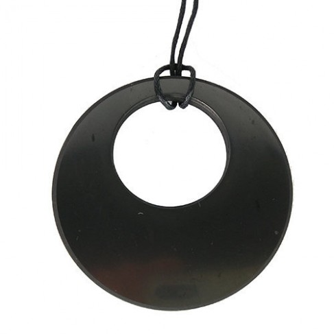 Colgante Shungita Disco