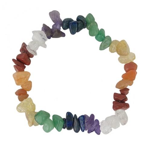 Pulsera Cuarzos de Colores