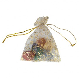 Bolsita Piedras 7 Chakras Amuleto