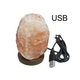 LÁMPARA DE SAL USB ROJA