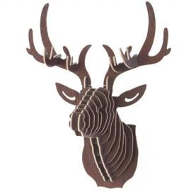 Cabeza ciervo decoración