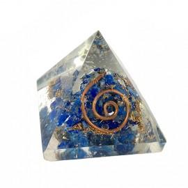 Lapislazuli pirámide orgonita