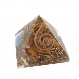 Pirámide energética ojo tigre