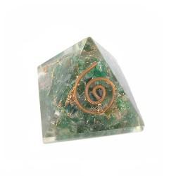 Pirámide cuarzo orgonita