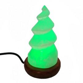 Lámpara selenita Torre USB